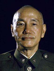 蒋介石 资料图