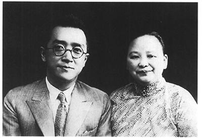 胡适与妻子江冬秀
