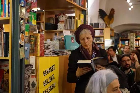 德国读者购买《我不是潘金莲》