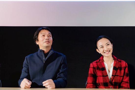 刘震云和他的女儿、青年电影导演刘雨霖