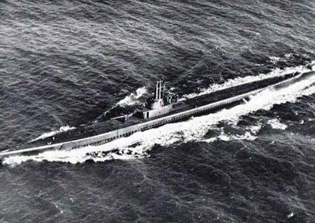 二战中的美军潜艇(资料图片)