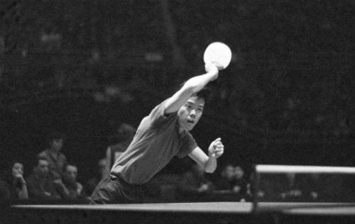 1959年容国团获得中国有史以来第一个世界冠军
