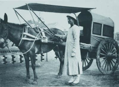 清朝时民间所用的车