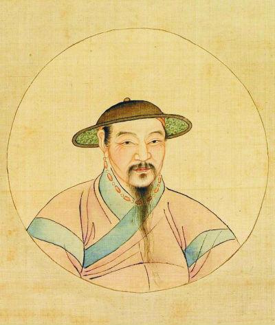 赵孟頫的自画像