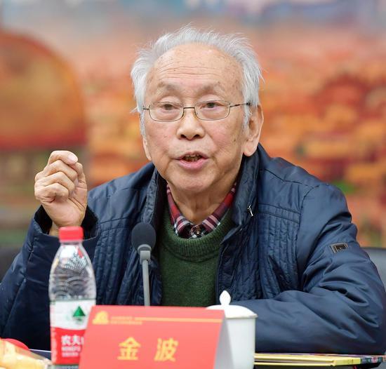 著名儿童文学作家、首都师范大学教授金波