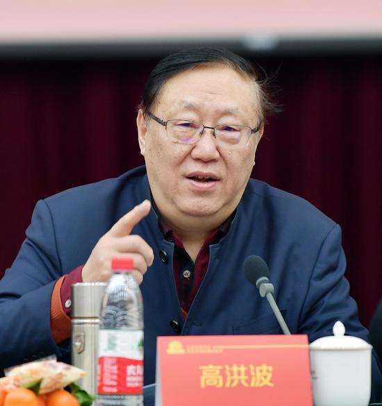 中国作家协会副主席、著名儿童文学作家、中国作家协会儿童委员会主任高洪波