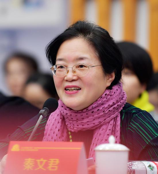 著名儿童文学作家、上海作家协会副主席秦文君
