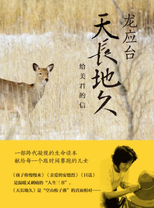 《天长地久:给美君的信》 龙应台 湖南文艺出版社
