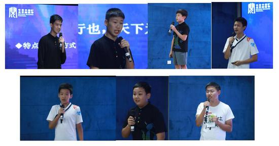 7位学生代表现场分享《中华人物故事汇》读后感