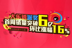 彩市图说第13期:大乐透派奖周销突破6亿 环比涨幅16%