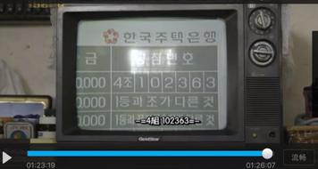 《请回答1988》剧照:那时候的韩国彩票摇奖直播