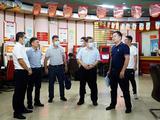 韦力行率队调研北海钦州中福在线游戏停销等工作