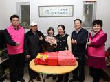 广西福彩中心党总支部开展党员进社区2019年春节慰问活动