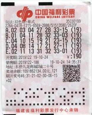 老彩民19倍投揽双色球二等429万:能中就很开心了