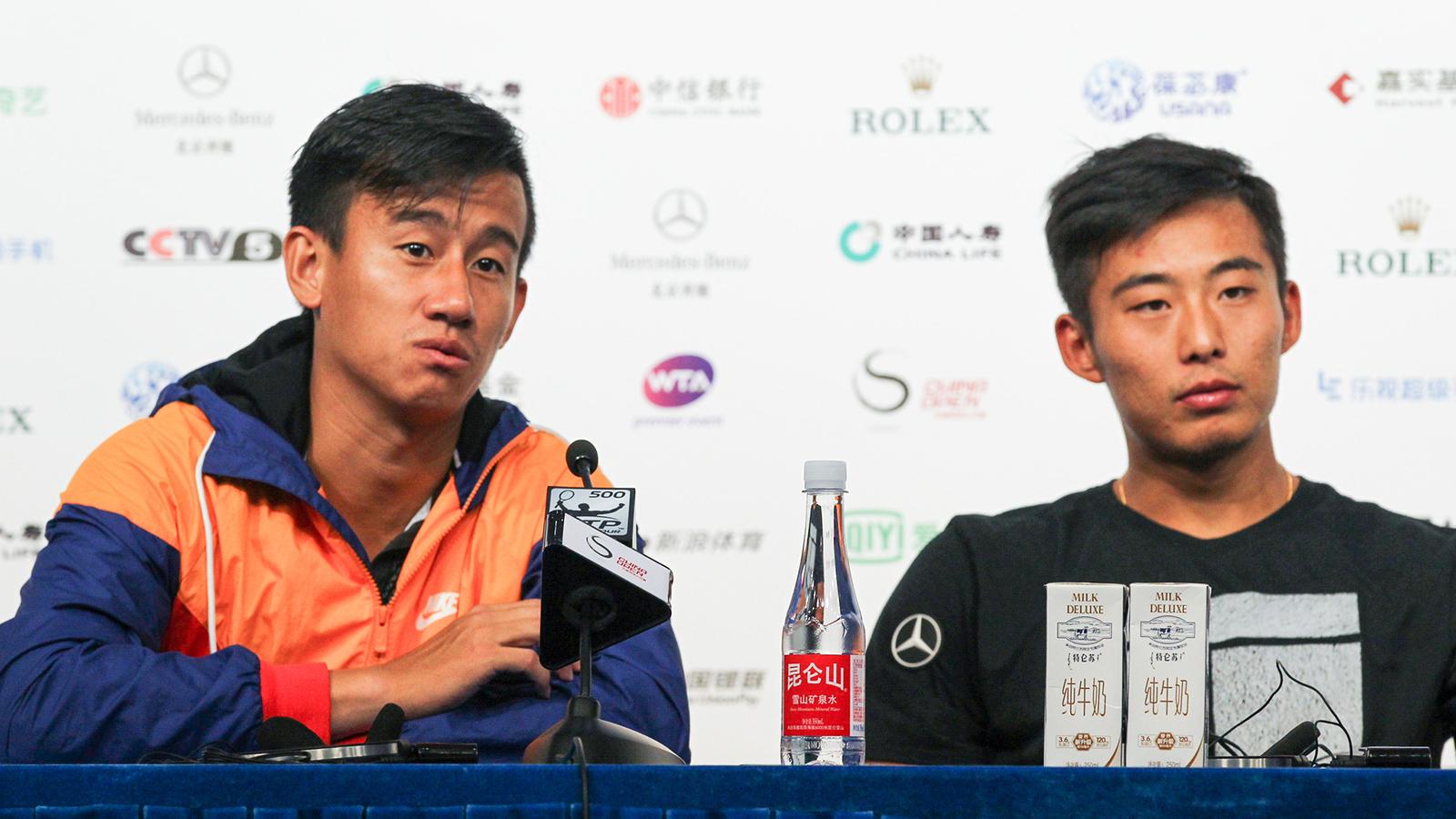 2016中国网球公开赛纳达尔_组图中国网球公开赛揭幕纳达尔莫亚结伴训练
