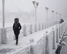 零下71度 探秘世界最冷村庄