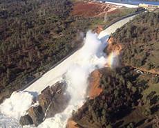 美国最高水坝可能决堤 至少18.8万人疏散