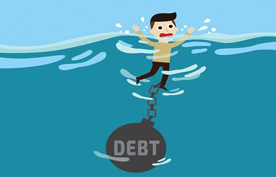 债台高筑 美国企业债务违约正在攀升