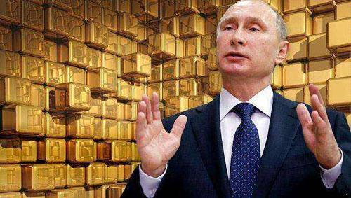 去美元化浪潮中 俄罗斯的黄金储备不断增加
