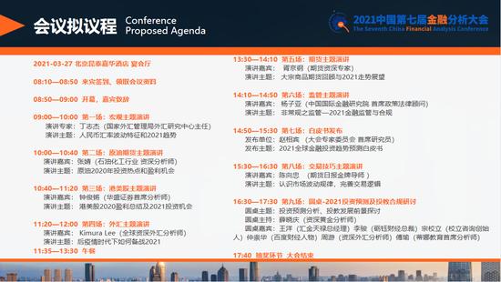 谁会是今年最强品种?2021年第七届金融分析大会3月27日在京举行