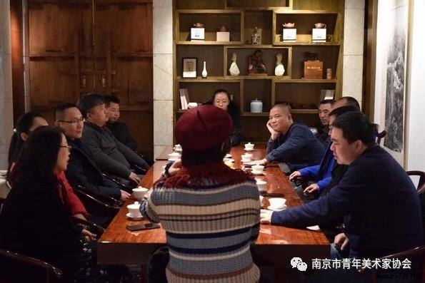 南京青年美协召开理事会 尚荣担任常务副主席