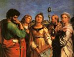 拉斐尔油画作品欣赏