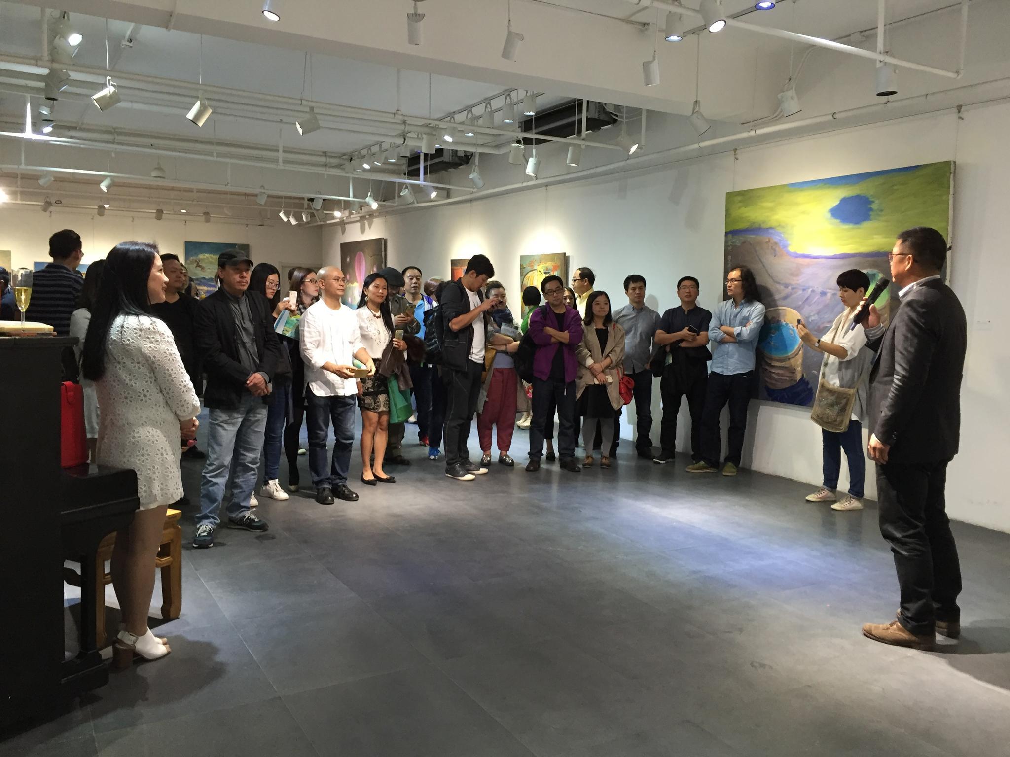 在路上---张永旭个展在颂雅风艺术中心开幕