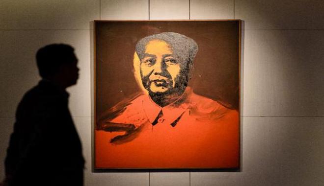 沃霍尔的毛泽东画像将在香港拍卖 价格或过亿