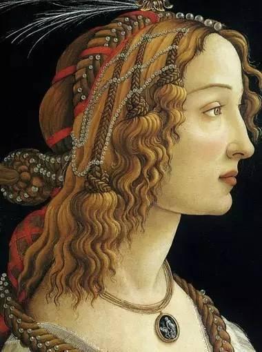 波提切利的《西蒙内塔·韦斯普奇》