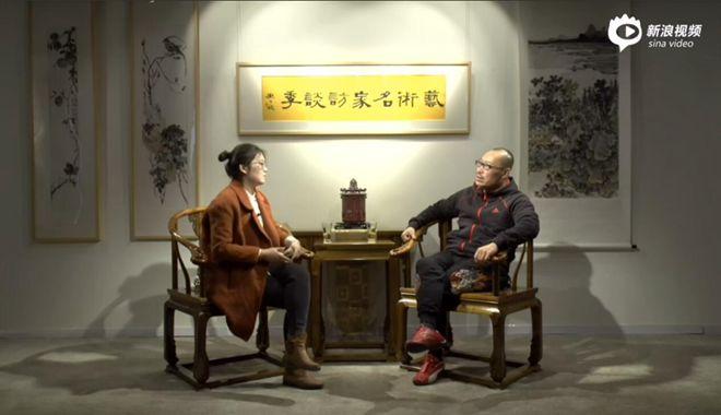 《艺术名家访谈季》第一期:著名山水画家 谢冰毅