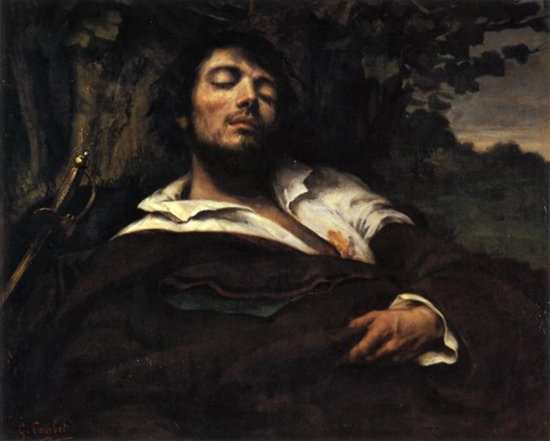 Gustave Courbet,The Wounded Man