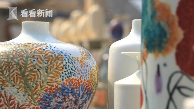 """别再羡慕景德镇啦!上海有""""申窑""""釉里红瓷器"""