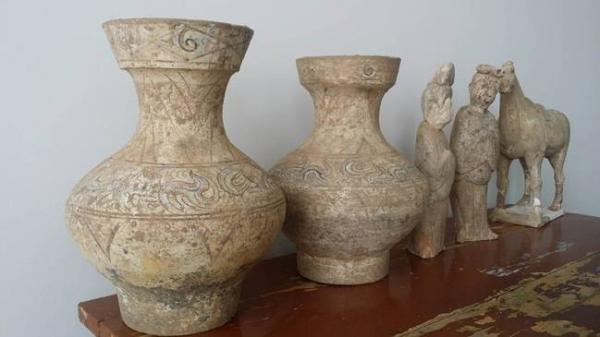 宋代定窑酒具等百多件文物被追缴