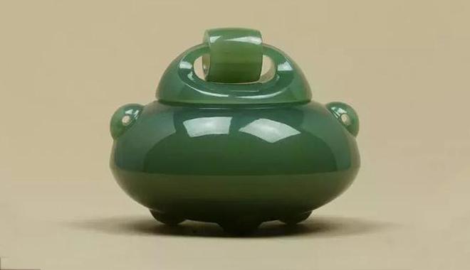揚州當代玉雕 玉香爐濃縮傳統文化+工業設計