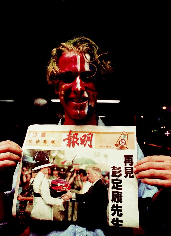 回归老�_香港回归老照片:他的1997