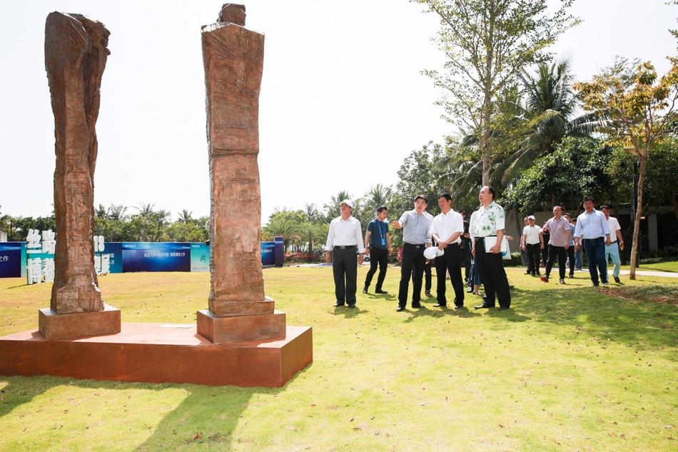 丝路新语:2018博鳌国际雕塑展现场