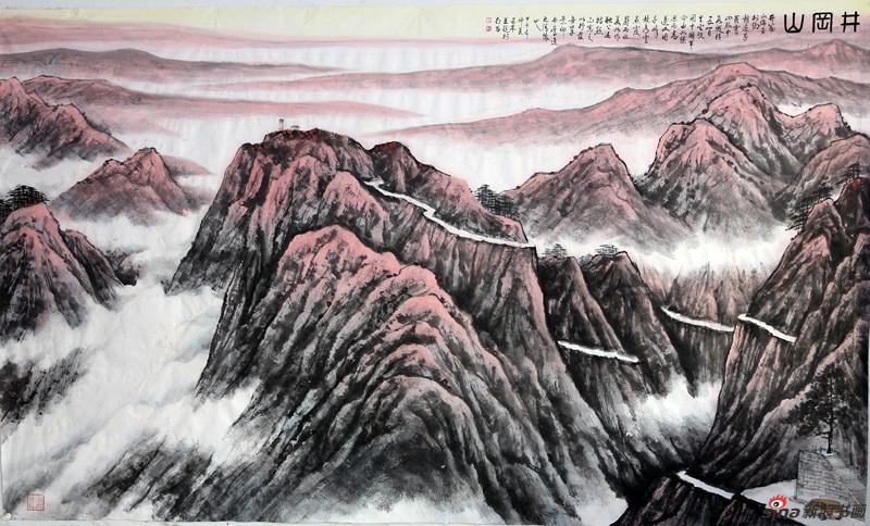 王林森《井冈山系列》作品欣赏