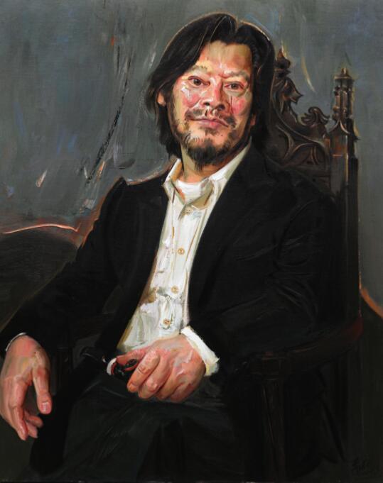 传神写韵——2018中国写意油画学派人物专题研究展