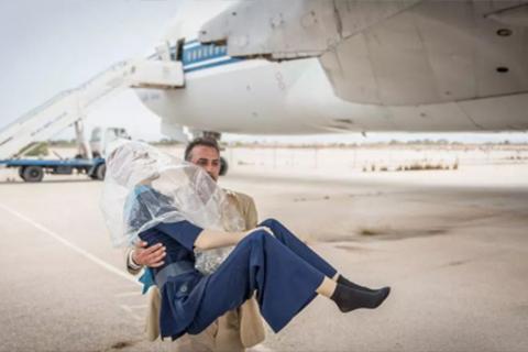 《被取消的特黎波利航班》Naeem Mohaiemen短片作品(图片来自卫报)