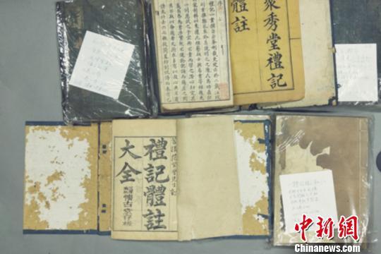 蒲城清代考院博物馆征集的文物。 清代考院博物馆 摄