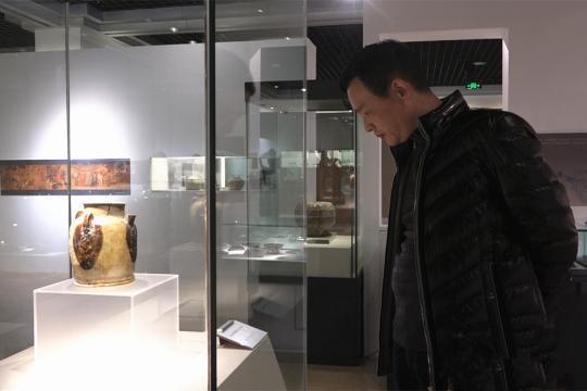 重庆中国三峡博物馆展出新石器时代至清代茶具