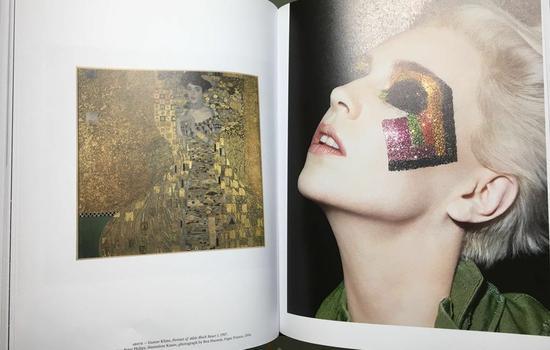 ▲原画是古斯塔夫·克里姆特的代表作之一《阿黛尔·布洛赫-鲍尔肖像》