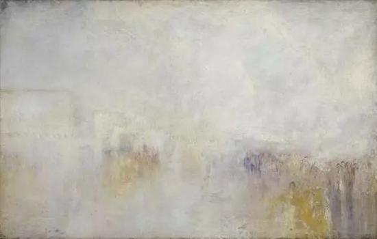 威廉·透纳《威尼斯的斯齐亚沃尼大街:水节》布面油画 约1845年