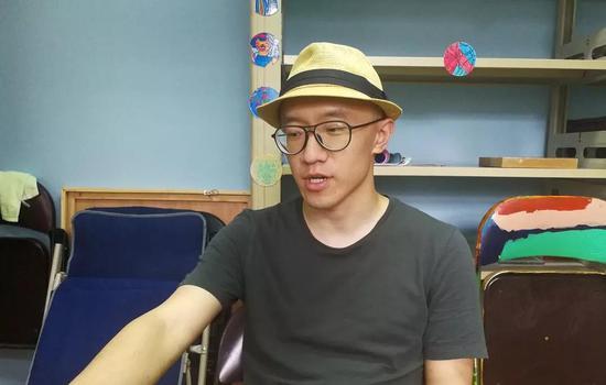 周博群在南京原生艺术工作室