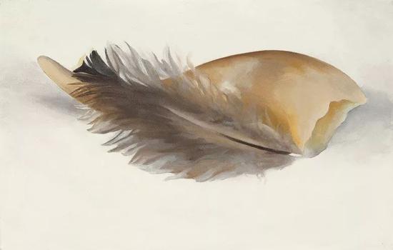 乔治亚·欧姬芙 《尖角和羽毛》61.25万美元成交