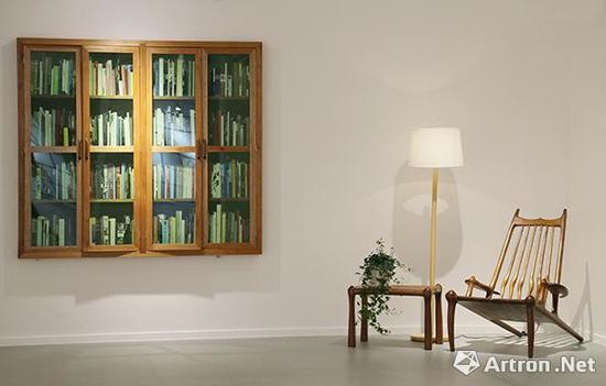 """肖海生(1988年)华艺廊个展""""我的问题不在于读书不多而想的太多""""展览现场"""