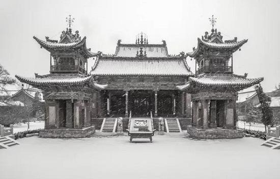 《风雪稷王庙》李协元(运城市稷山县)