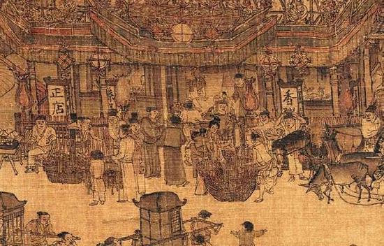 《清明上河图》中所绘的孙羊正店