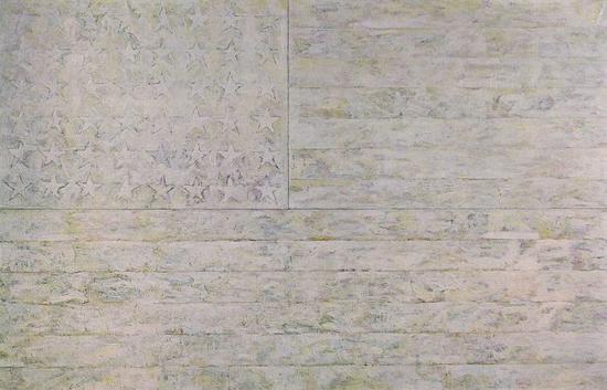 杰西帕·琼斯(Jasper Johns)《白色旗帜》
