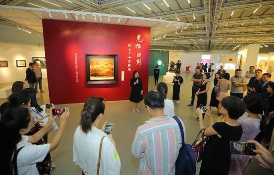 2018年9月,中國嘉德秋拍北京預展現場 圖片來源:視覺中國